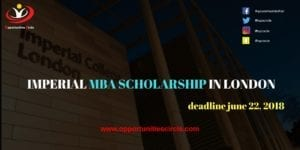 IMPERIAL MBA SCHOLARSHIP IN LONDON 300x150 - IMPERIAL MBA SCHOLARSHIP IN LONDON, ENGLAND 2019