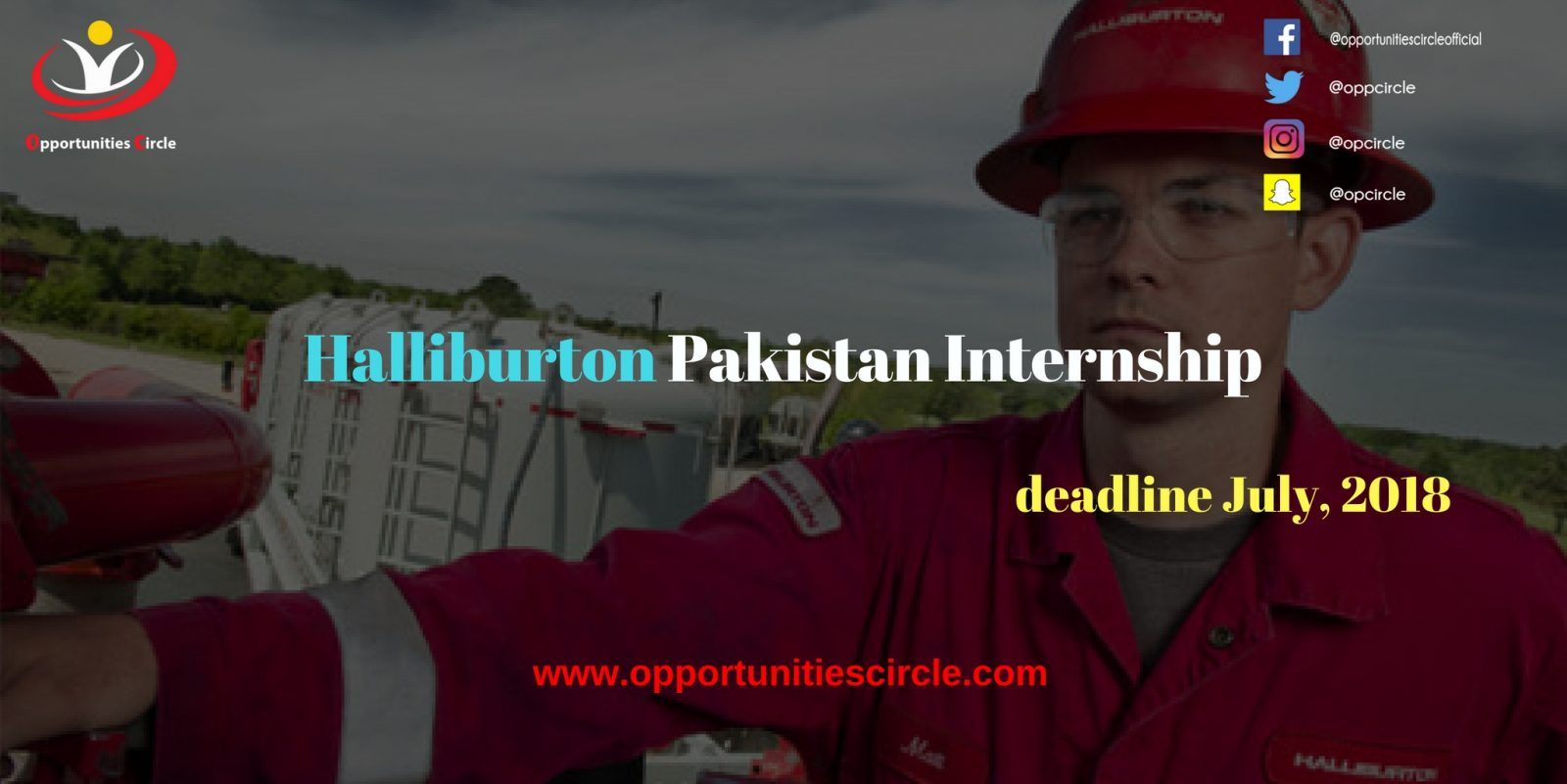 Halliburton Pakistan Internship - Opportunities Circle