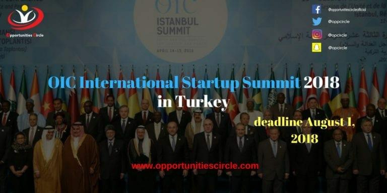OIC International Startup Summit 2018