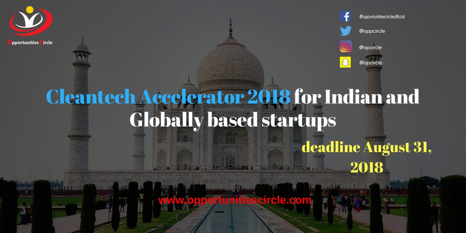 Cleantech Accelerator 2018 for Indian and Globally based startups - Cleantech Accelerator 2018 for Globally based startups