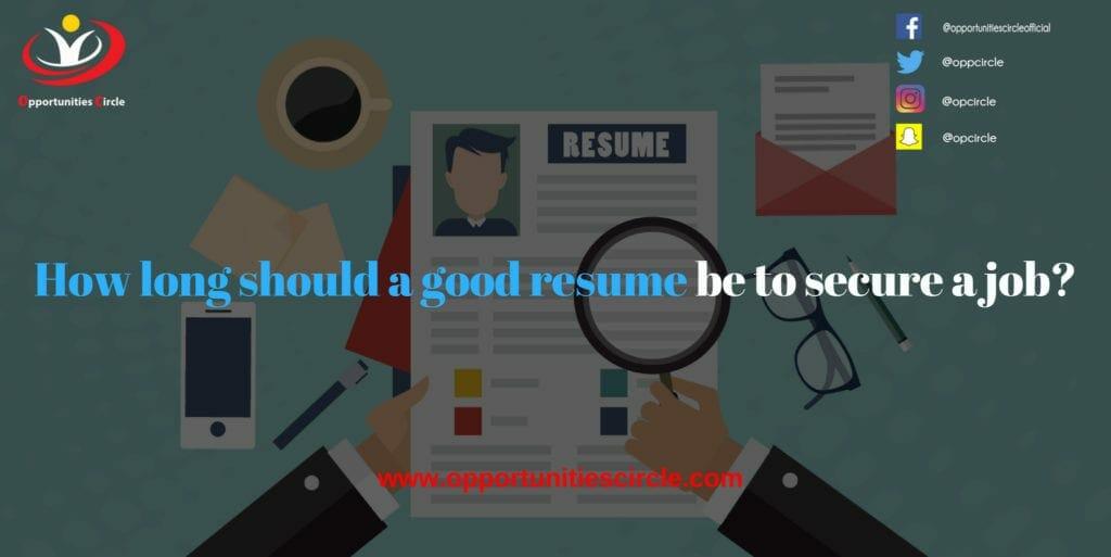 resume 1024x513 - Opportunities Circle Scholarships, Fellowships, Internships, Jobs
