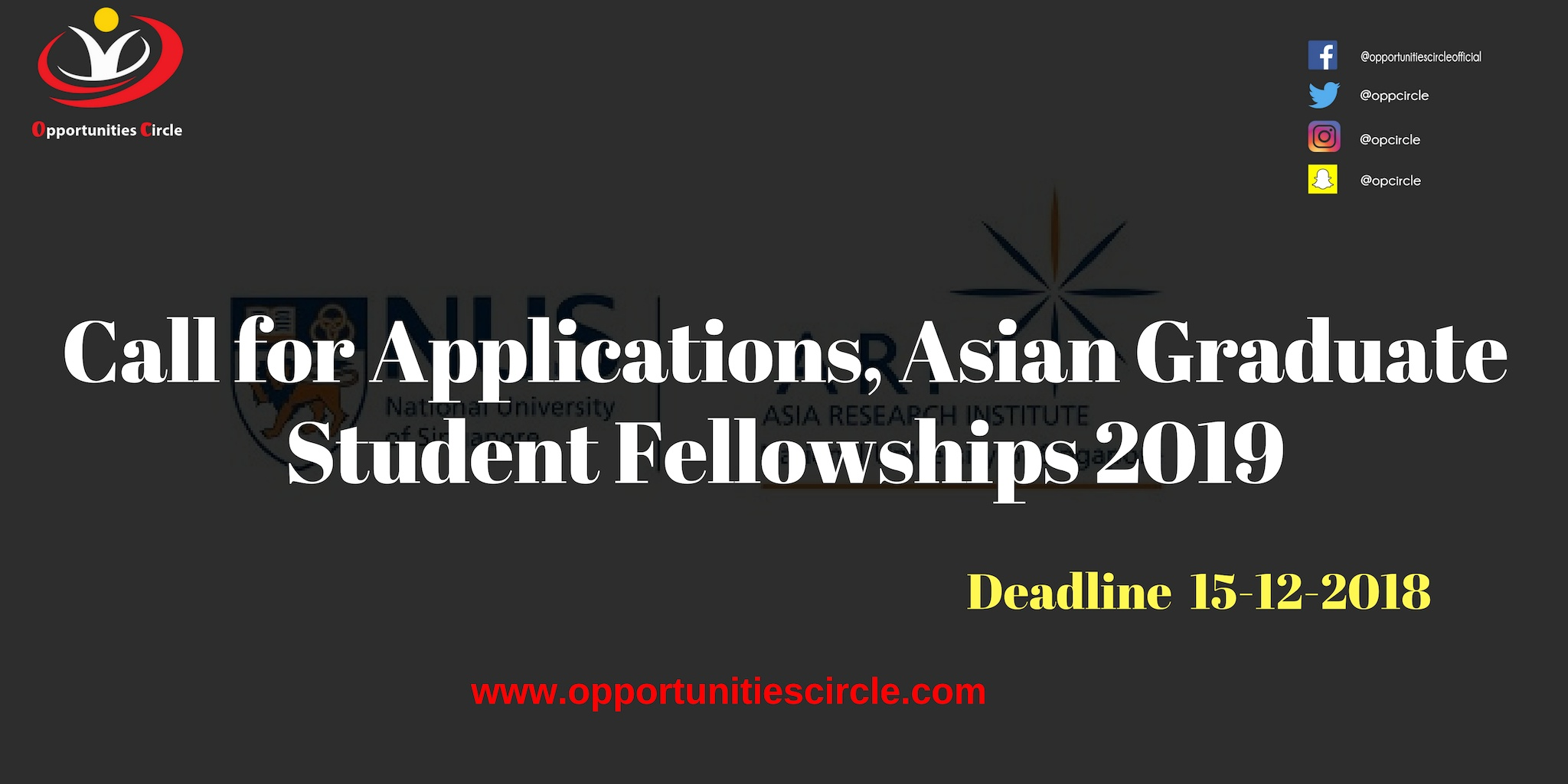 Asian graduate student fellowship