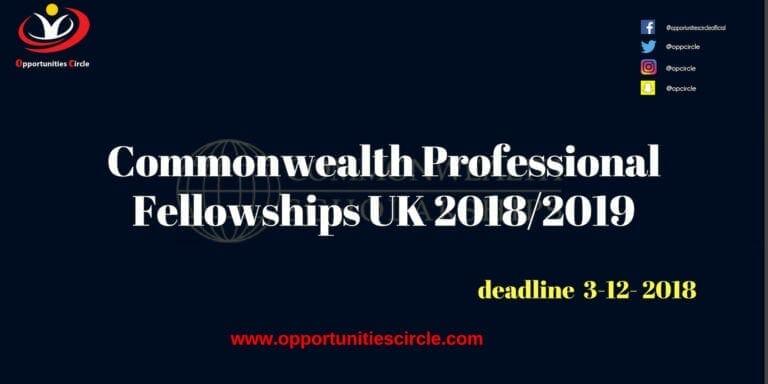Commonwealth Professional Fellowships UK