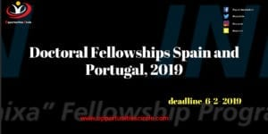 Doctoral Fellowships Spain and Portugal