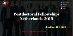 Postdoctoral Fellowships Netherlands