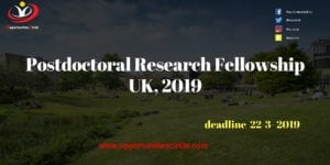 Postdoctoral Research Fellowship UK