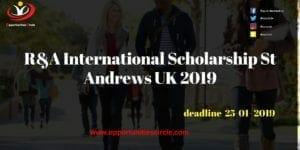 R&A International Scholarship