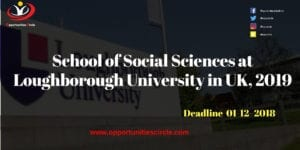 School of Social Sciences at Loughborough University in UK 2019 300x150 - School of Social Sciences at Loughborough University in UK, 2019