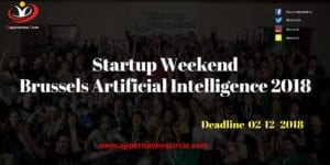 Startup Weekend Brussels Artificial Intelligence 2018 300x150 - Startup Weekend Brussels Artificial Intelligence 2018: Your idea in 54 hours