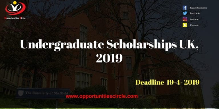 undergraduate scholarships uk