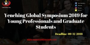 Yenching Global Symposium 2019 for Young Professionals and Graduate Students 300x150 - Yenching Global Symposium 2019 for Young Professionals and Graduate Students