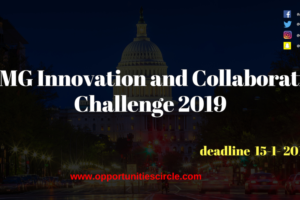KPMG Innovation and Collaboration Challenge 2019