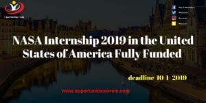 NASA Internship 2019 in United States of America Fully Funded 1 300x150 - Opportunities Circle Scholarships, Fellowships, Internships, Jobs