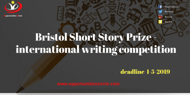 Bristol Short Story Prize - international writing competition