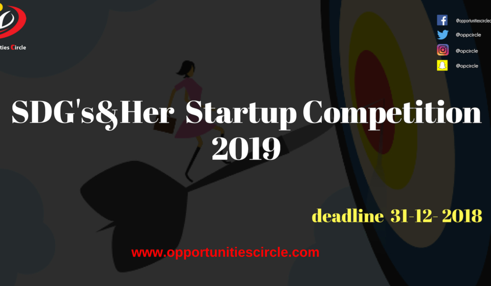 SDG's&Her Competition 2019