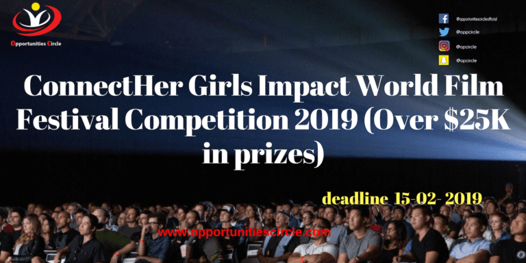 World Press Institute Fellowship 2019 in USA 768x384 - ConnectHer Girls Impact World Film Festival Competition 2019