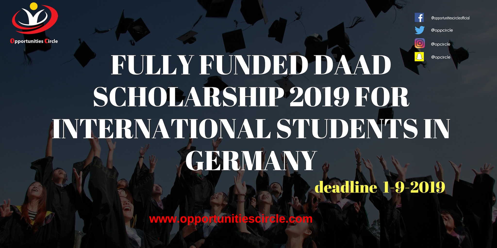 FULLY FUNDED DAAD SCHOLARSHIP 2019 FOR INTERNATIONAL