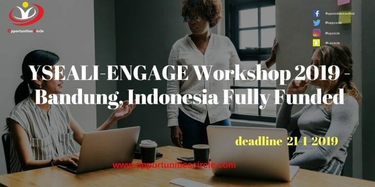 YSEALI-ENGAGE Workshop 2019