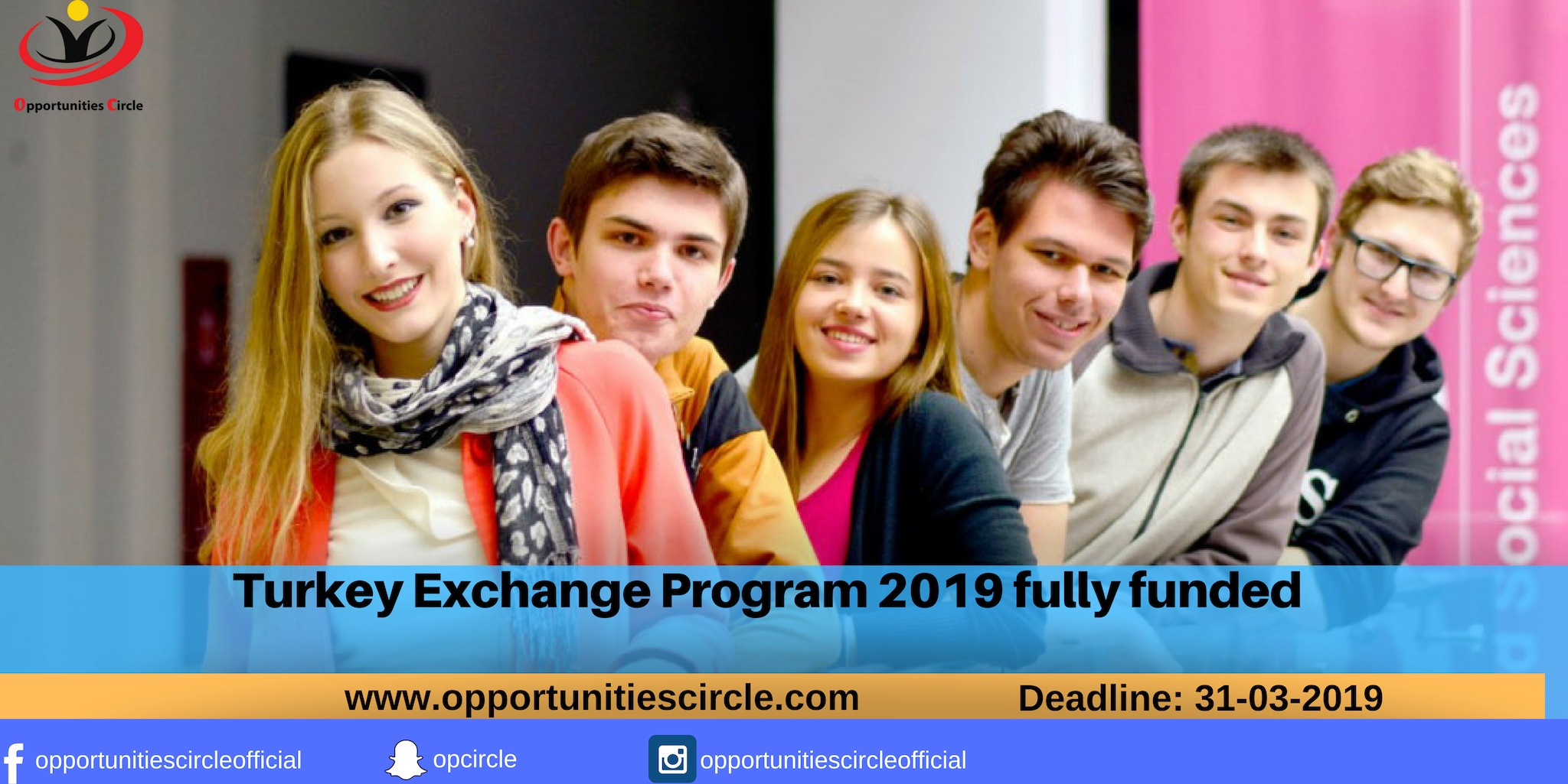 Turkey Exchange Program 2019 [Fully Funded] - Opportunities Circle