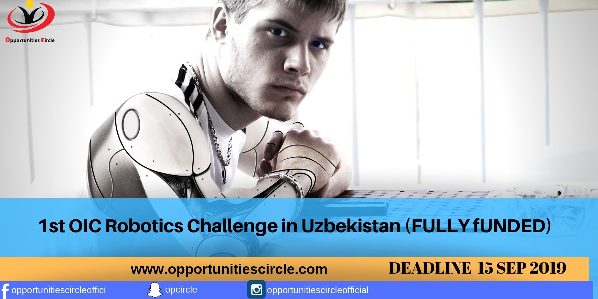 1st OIC Robotics Challenge in Uzbekistan - Opportunities Circle