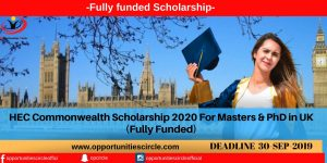 Opportunities Circle Scholarships, Fellowships, Internships